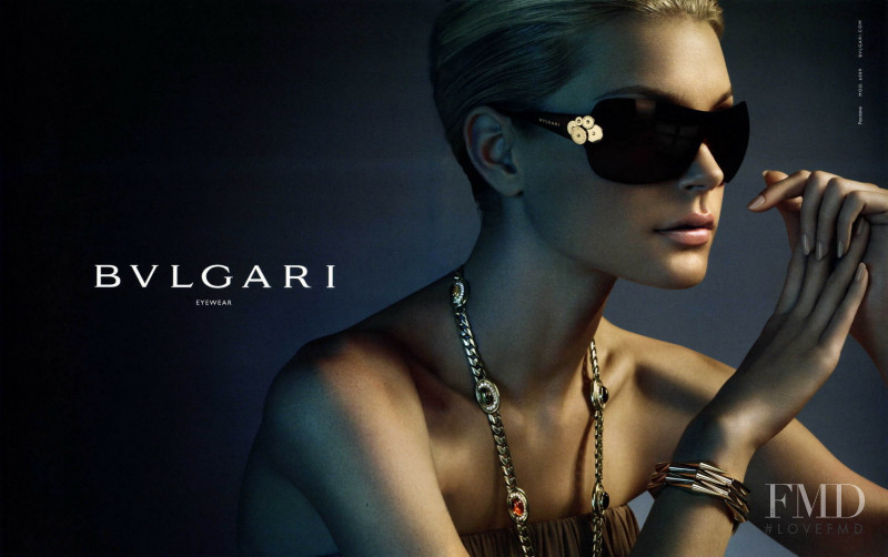 Jessica Stam featured in  the Bulgari advertisement for Spring/Summer 2007