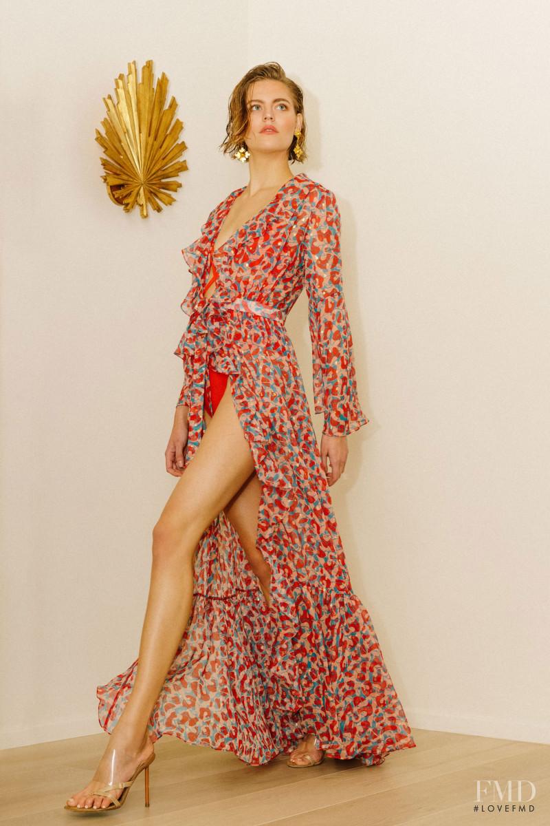 Dasha Matkova featured in  the Haney lookbook for Pre-Fall 2020
