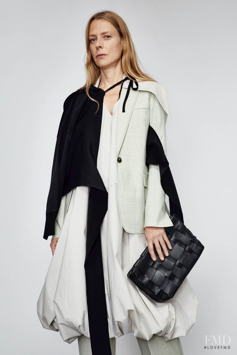 Laura Morgan featured in  the 3.1 Phillip Lim lookbook for Pre-Fall 2020