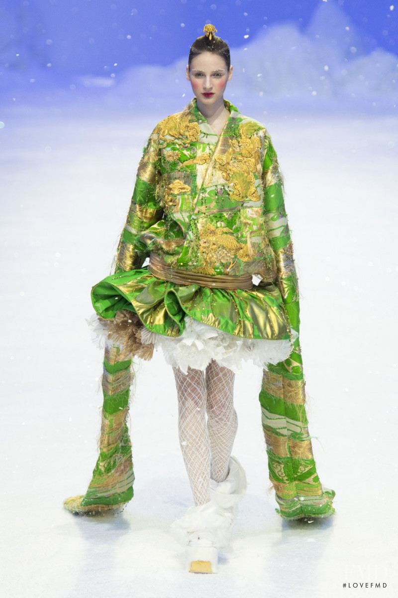Guo Pei fashion show for Spring/Summer 2020