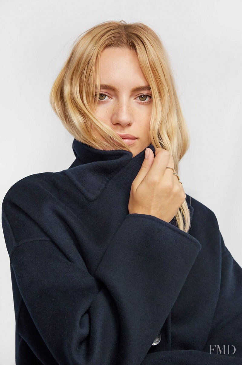 Maya Stepper featured in  the Anine Bing catalogue for Winter 2018