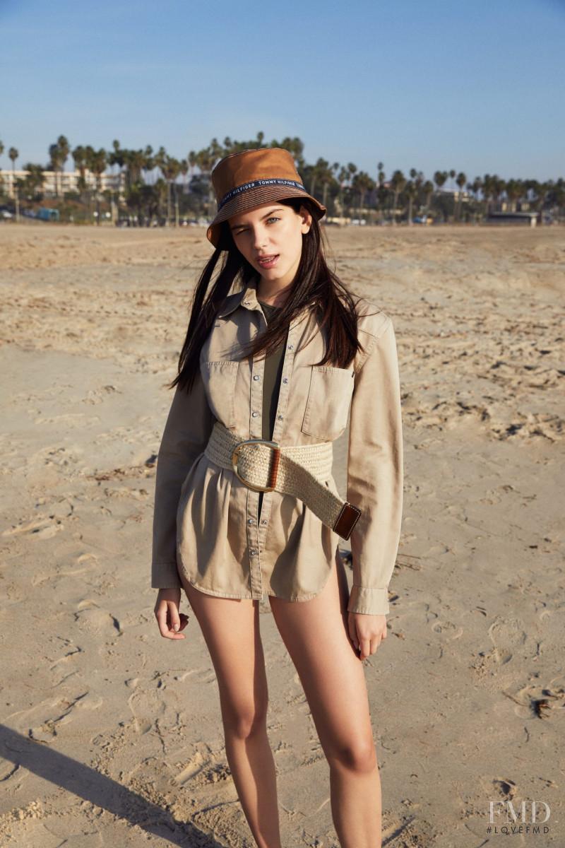Sonia Ben Ammar featured in  the Zalando advertisement for Spring 2018