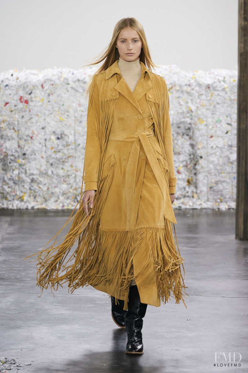 Natalie Ludwig featured in  the Gabriela Hearst fashion show for Autumn/Winter 2020