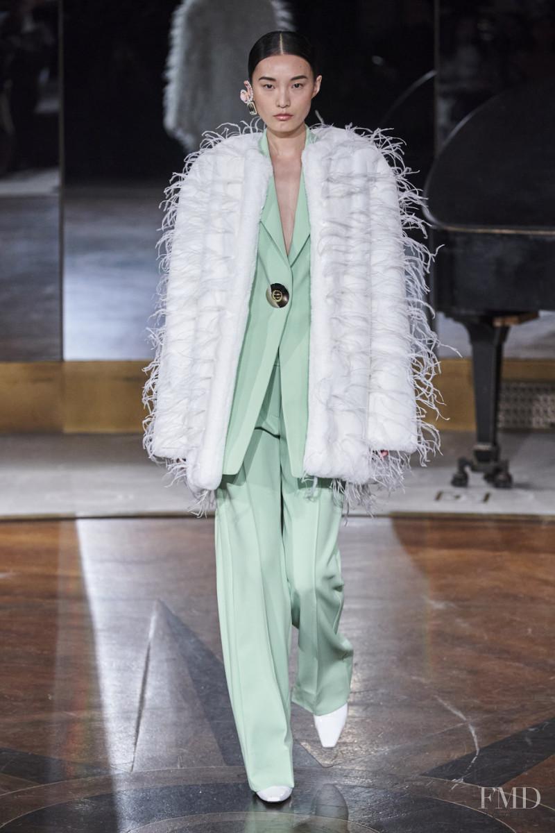 Liu Chunjie featured in  the Prabal Gurung fashion show for Autumn/Winter 2020