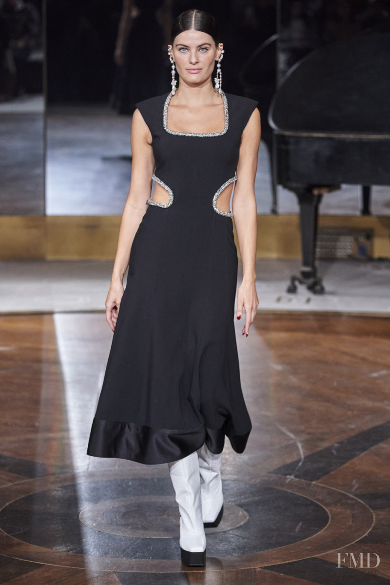 Isabeli Fontana featured in  the Prabal Gurung fashion show for Autumn/Winter 2020