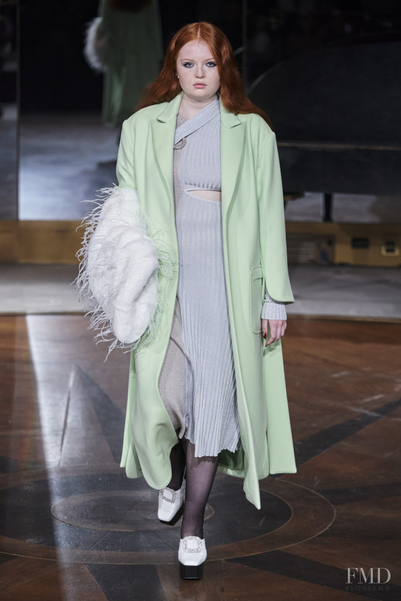 Tess McMillan featured in  the Prabal Gurung fashion show for Autumn/Winter 2020