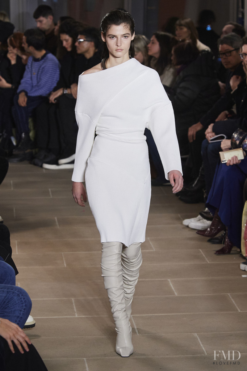 Effie Steinberg featured in  the Proenza Schouler fashion show for Autumn/Winter 2020