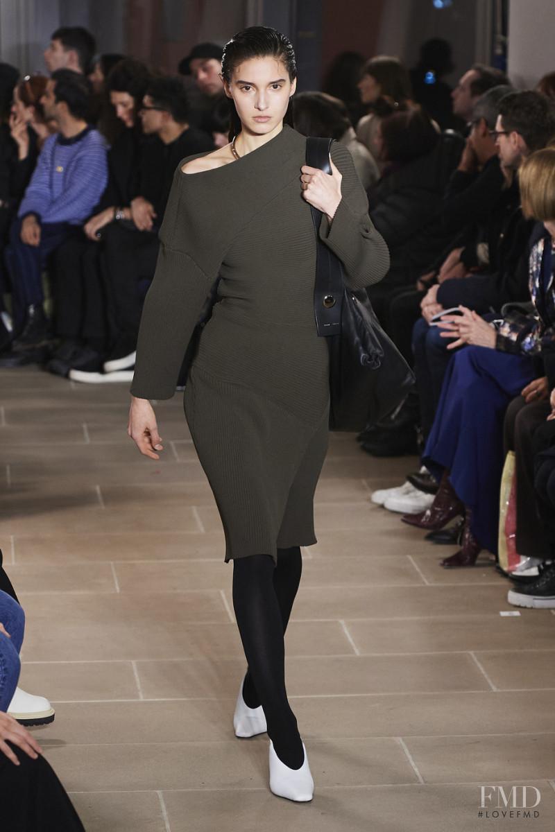 Rachelle Harris featured in  the Proenza Schouler fashion show for Autumn/Winter 2020