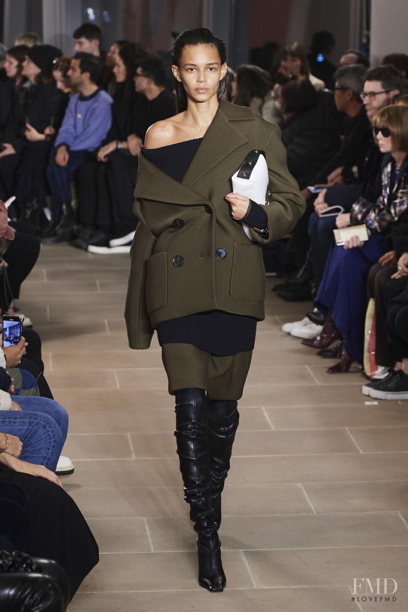 Binx Walton featured in  the Proenza Schouler fashion show for Autumn/Winter 2020