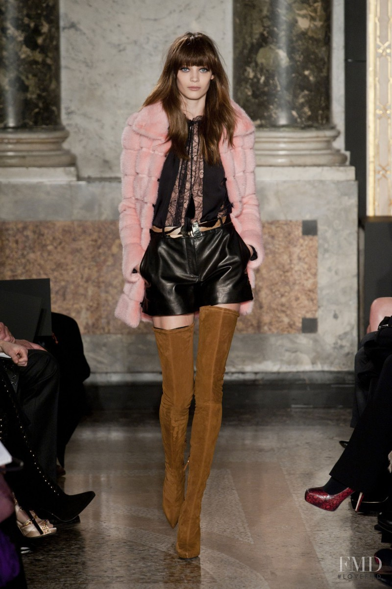 Diana Moldovan featured in  the Emilio Pucci fashion show for Autumn/Winter 2013