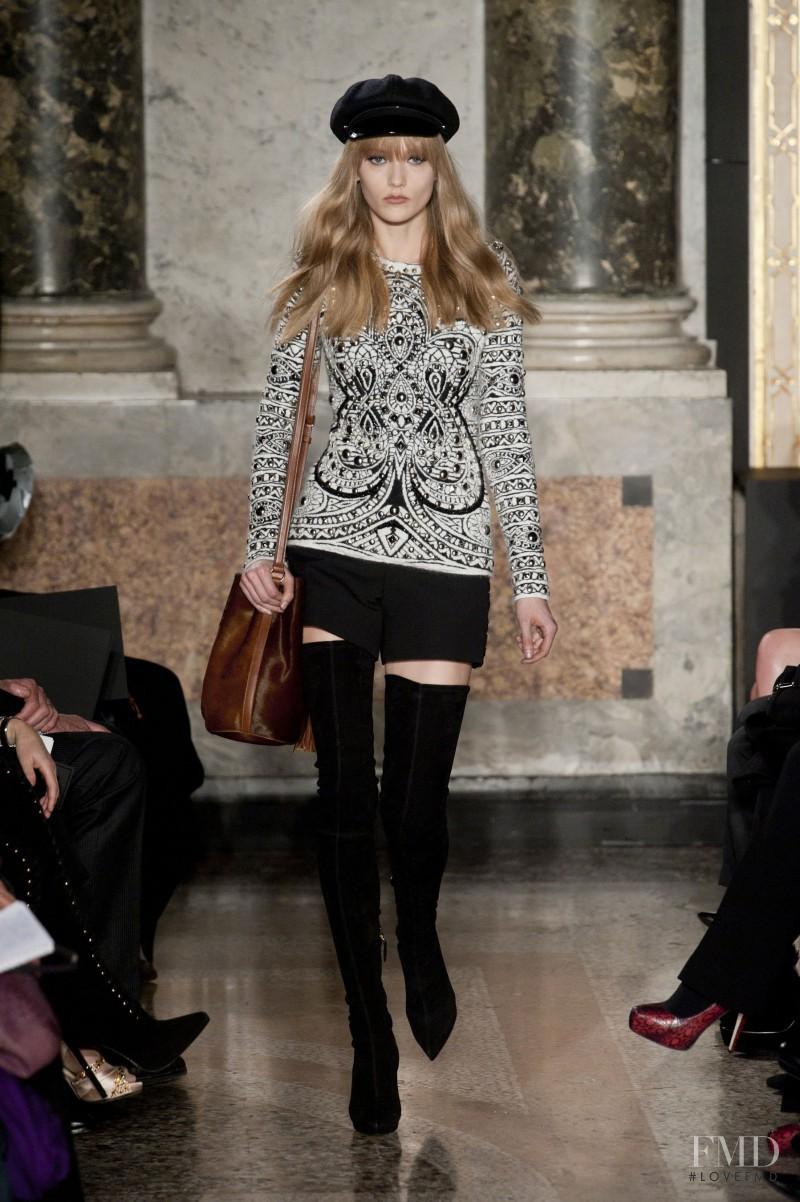 Katerina Ryabinkina featured in  the Emilio Pucci fashion show for Autumn/Winter 2013