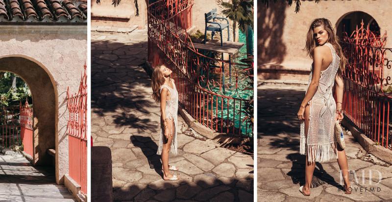 Kim Celina Riekenberg featured in  the Nic del Mar lookbook for Spring/Summer 2020