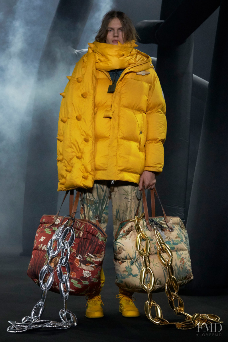 Tomass Ida featured in  the Moncler 1 JW Anderson fashion show for Autumn/Winter 2020