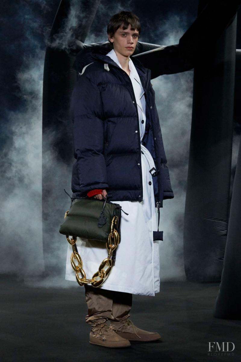 Jonas Vermeylen featured in  the Moncler 1 JW Anderson fashion show for Autumn/Winter 2020