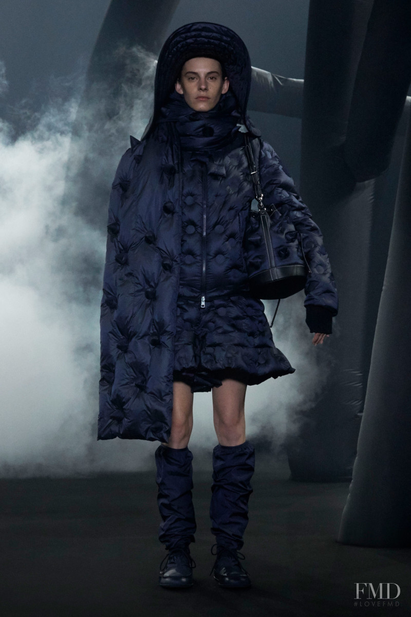 Cyrielle Lalande featured in  the Moncler 1 JW Anderson fashion show for Autumn/Winter 2020
