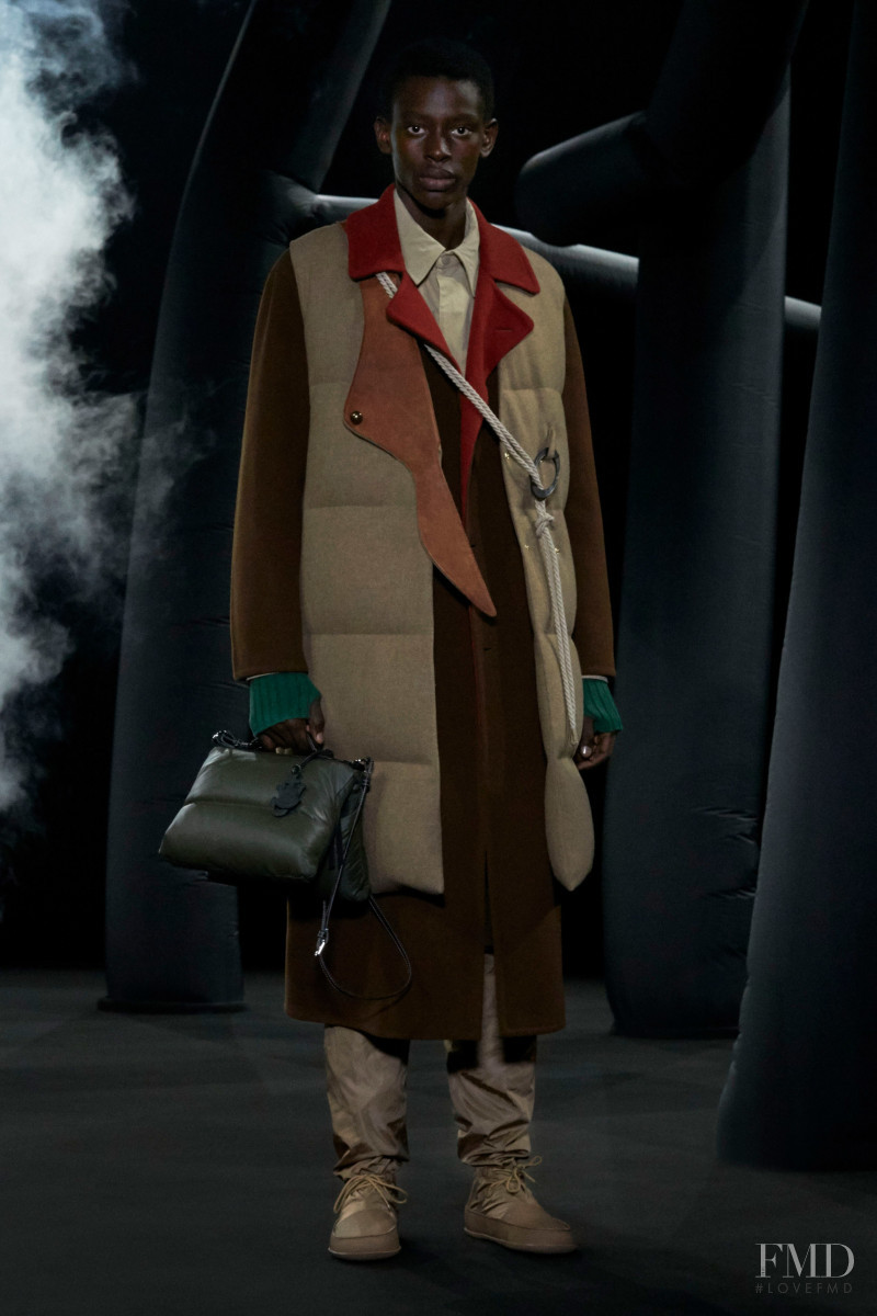 Adamu Bulus featured in  the Moncler 1 JW Anderson fashion show for Autumn/Winter 2020
