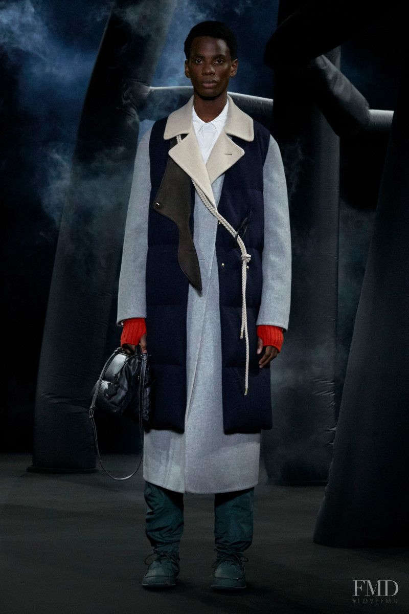 Chuka Enemuo featured in  the Moncler 1 JW Anderson fashion show for Autumn/Winter 2020