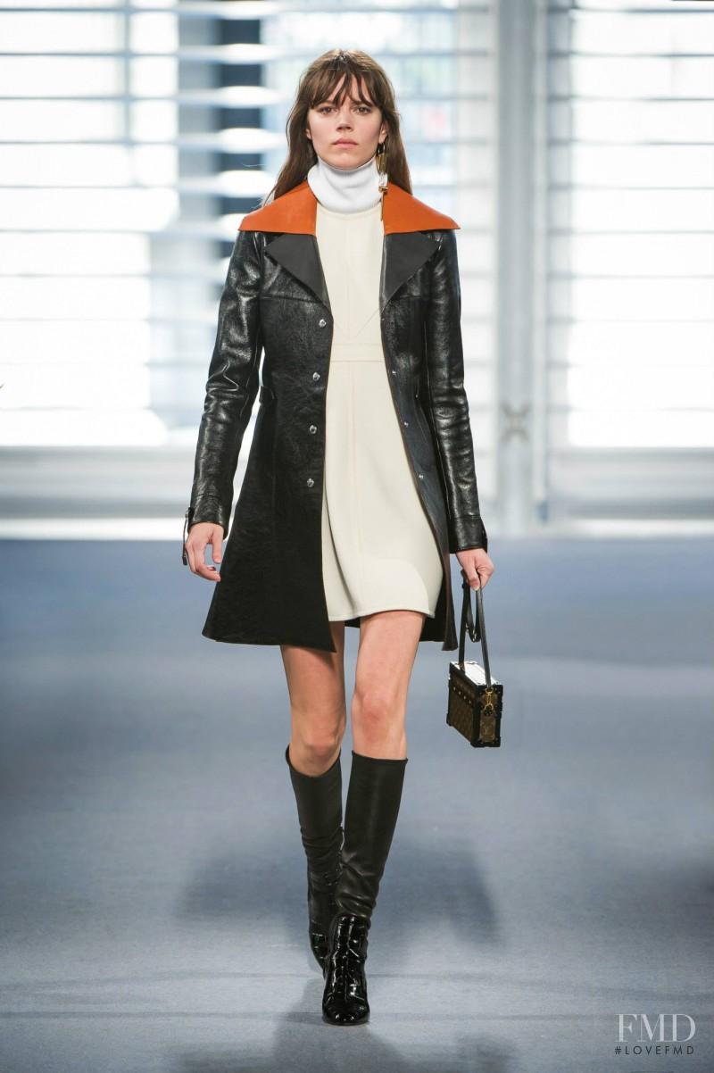 Freja Beha Erichsen featured in  the Louis Vuitton fashion show for Autumn/Winter 2014