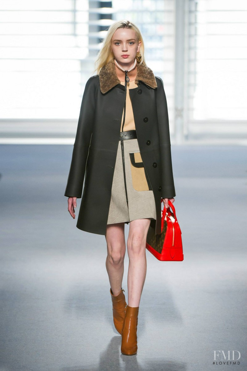 Esmeralda Seay-Reynolds featured in  the Louis Vuitton fashion show for Autumn/Winter 2014