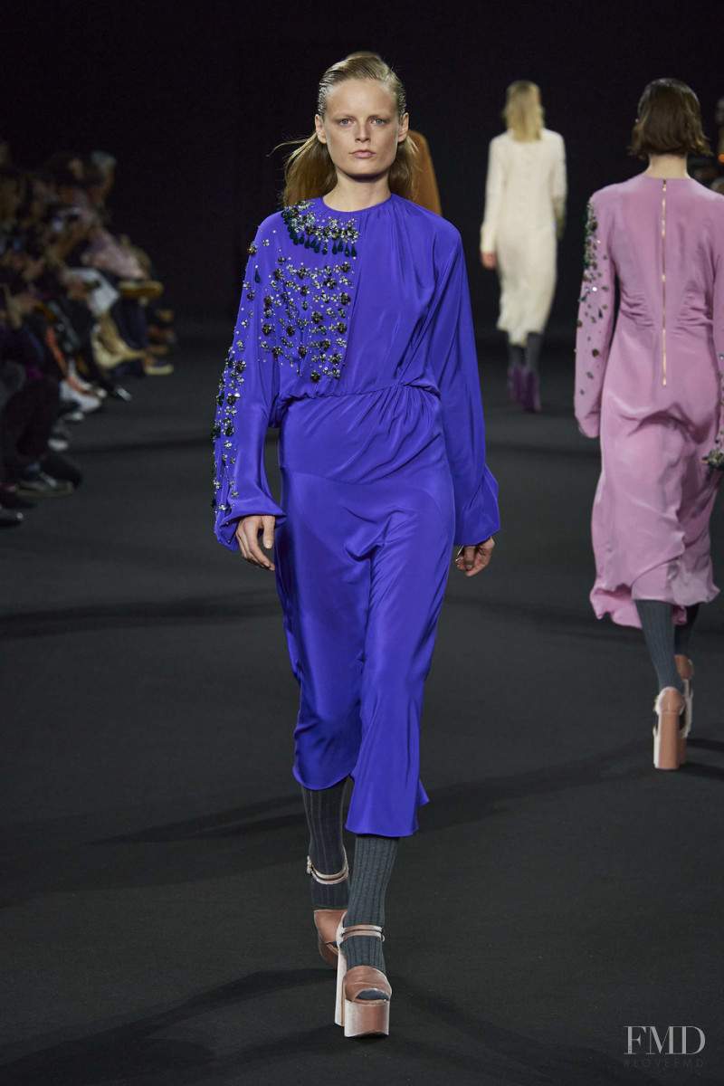 Hanne Gaby Odiele featured in  the Rochas fashion show for Autumn/Winter 2020