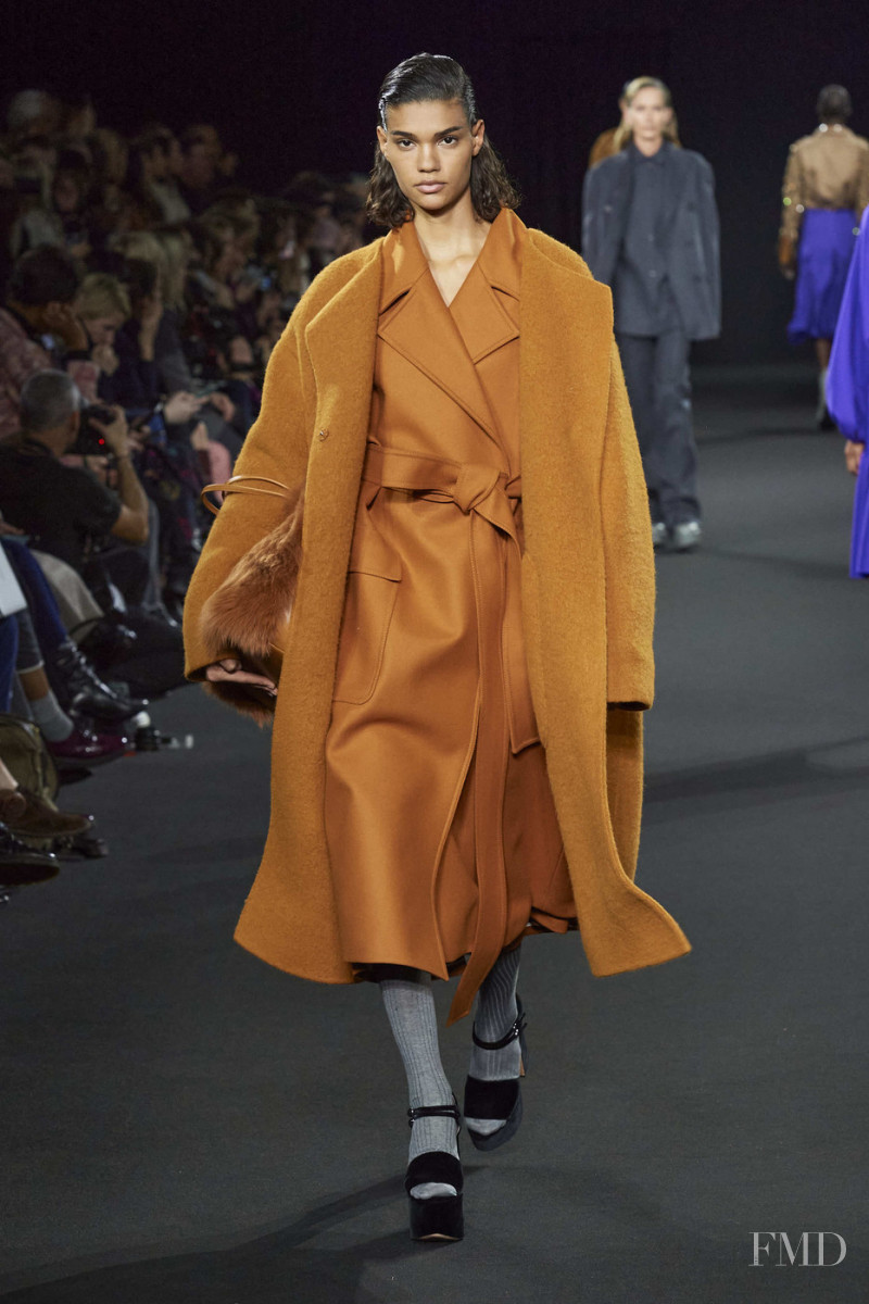 Barbara Valente featured in  the Rochas fashion show for Autumn/Winter 2020