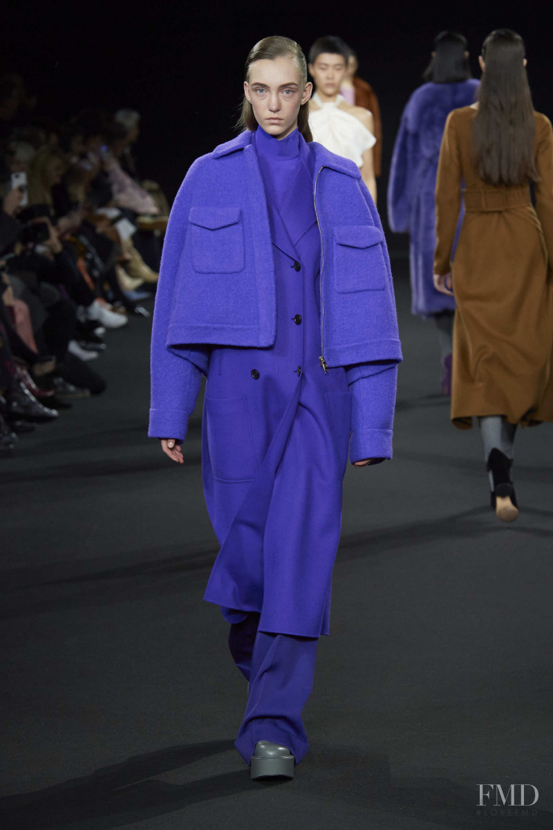 Silte Haken featured in  the Rochas fashion show for Autumn/Winter 2020