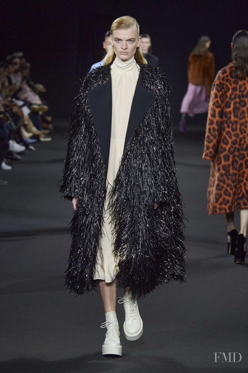Juliane Grüner featured in  the Rochas fashion show for Autumn/Winter 2020