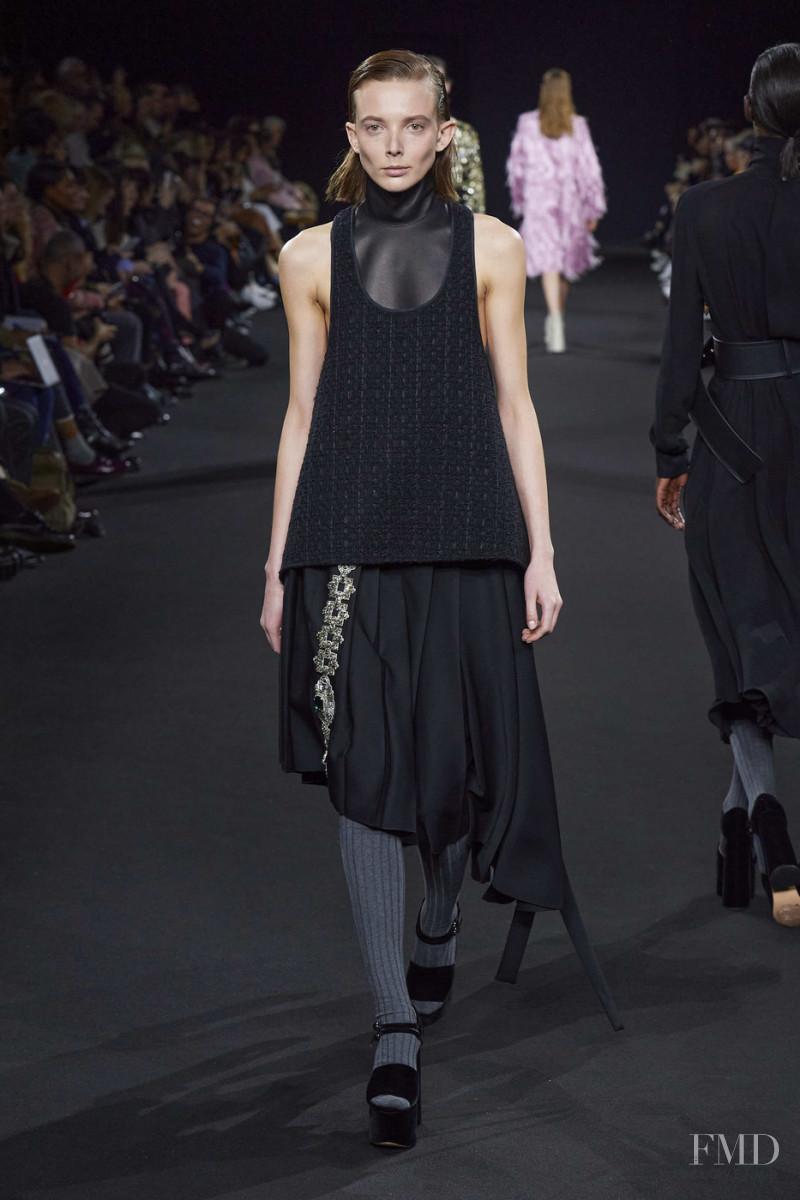 Silje Christine Lorentzen featured in  the Rochas fashion show for Autumn/Winter 2020
