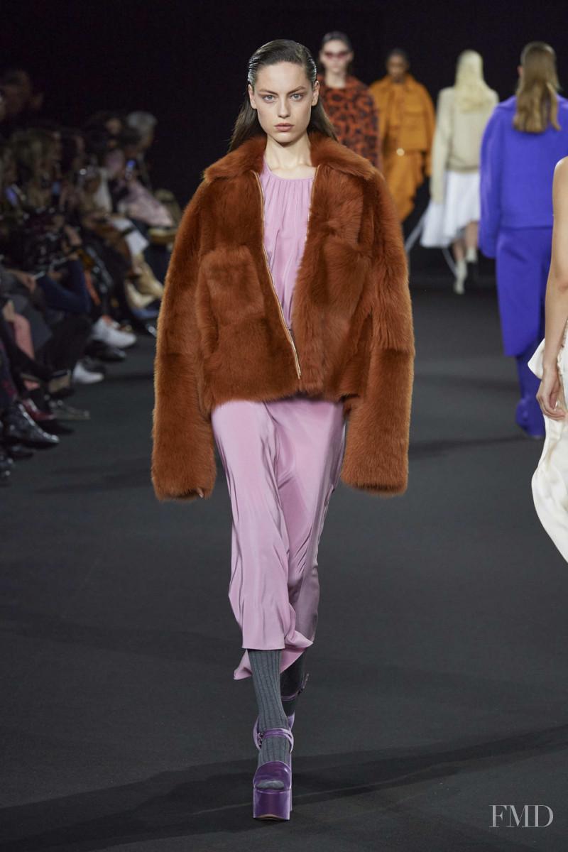 Caroline Knudsen featured in  the Rochas fashion show for Autumn/Winter 2020
