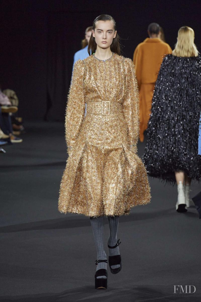 Claudia Bonetti featured in  the Rochas fashion show for Autumn/Winter 2020