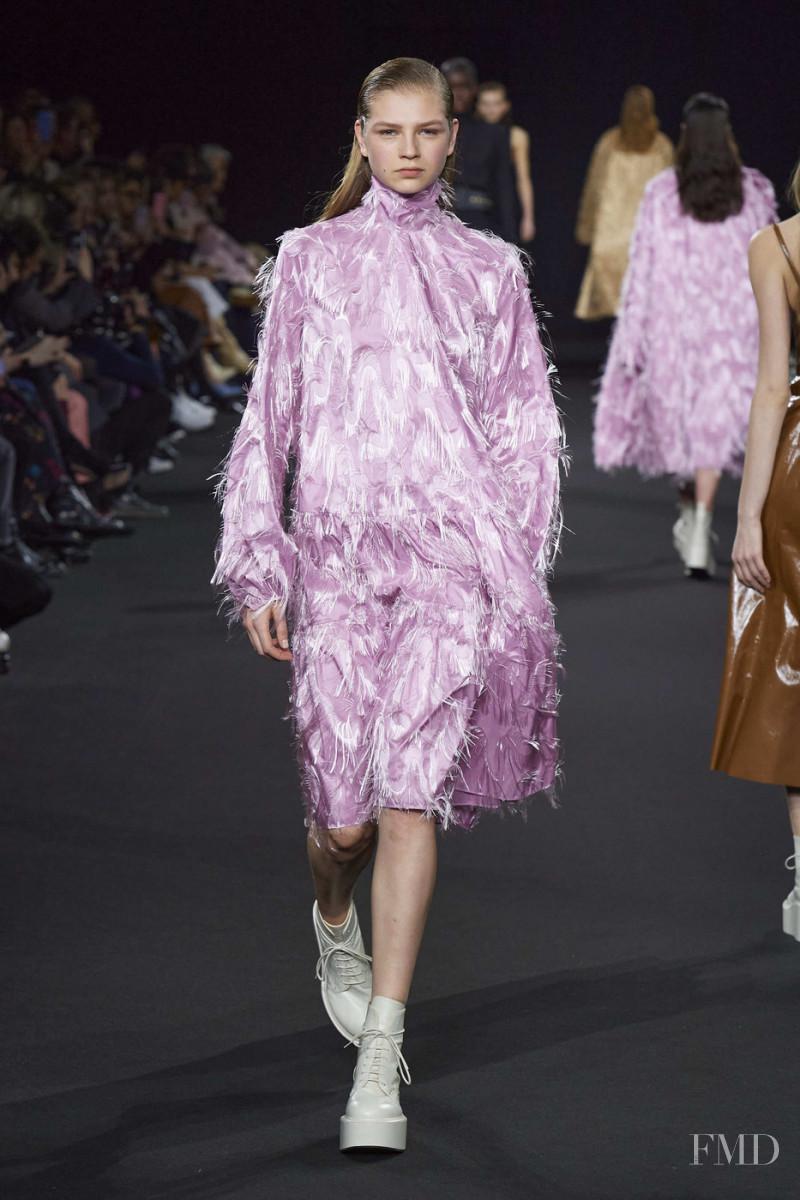 Deirdre Firinne featured in  the Rochas fashion show for Autumn/Winter 2020