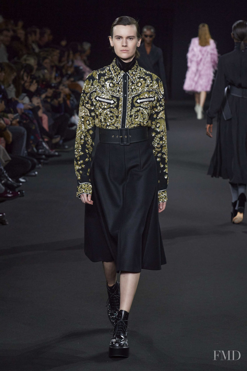 Jamily Meurer Wernke featured in  the Rochas fashion show for Autumn/Winter 2020