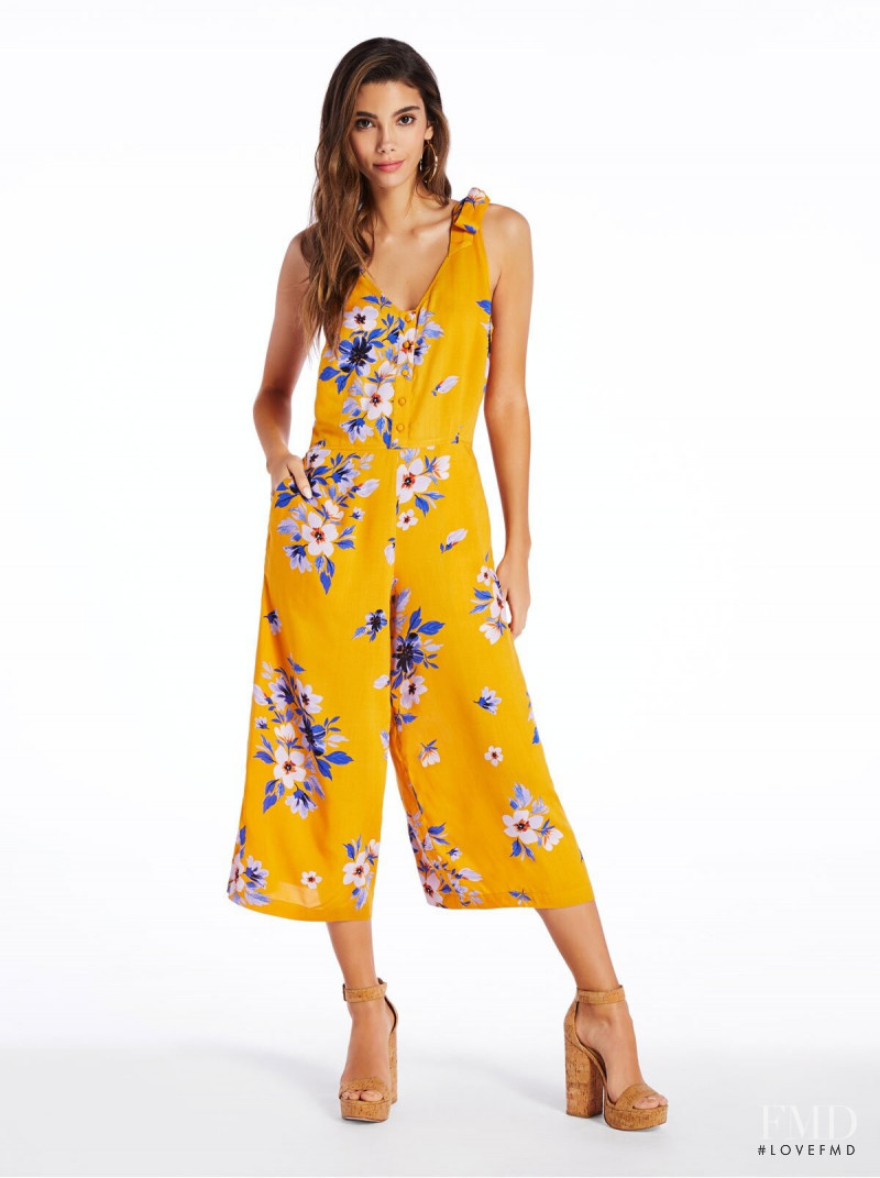 Cindy Mello featured in  the Jessica Simpson catalogue for Summer 2019