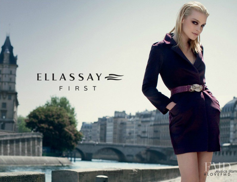 Jessica Stam featured in  the Ellassay advertisement for Autumn/Winter 2011