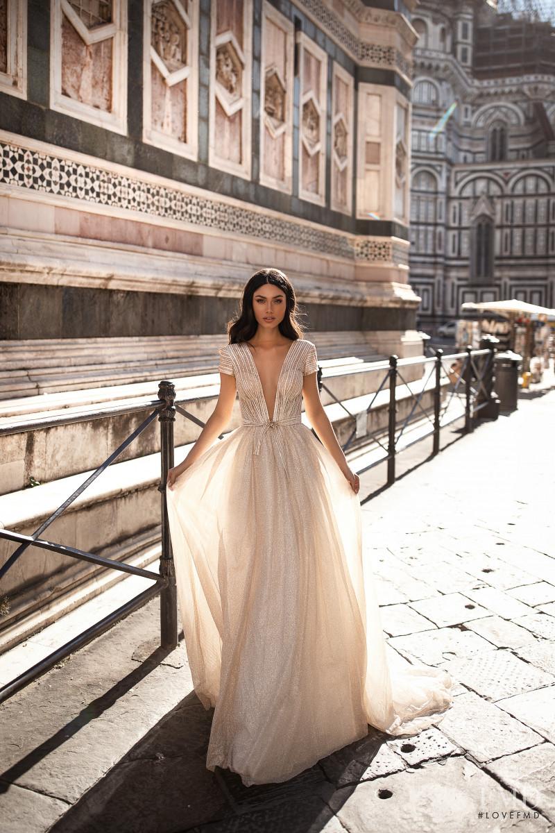 Victoria Bronova featured in  the Milla Nova Royal Collection lookbook for Autumn/Winter 2019