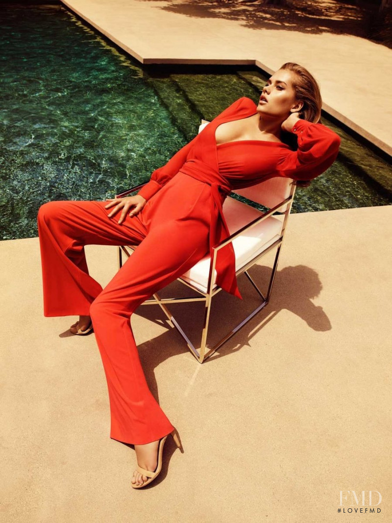 Solveig Mork Hansen featured in  the Marciano advertisement for Autumn/Winter 2015
