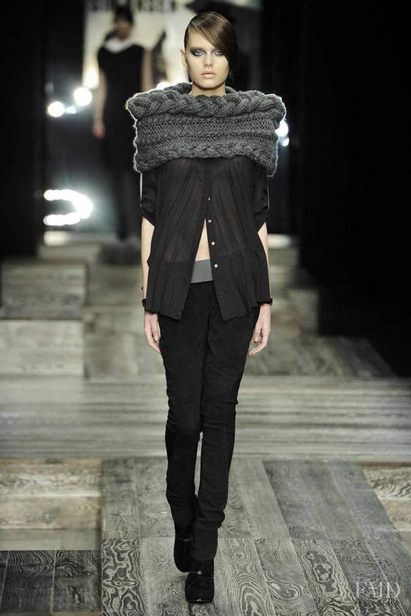 Solveig Mork Hansen featured in  the Karen By Simonsen fashion show for Autumn/Winter 2012