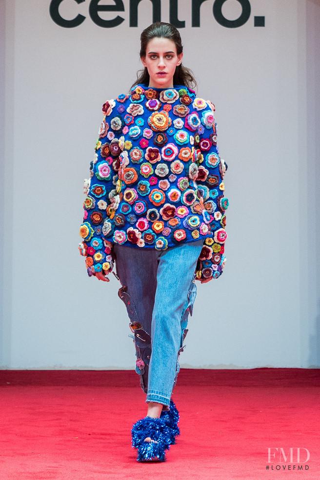 Valentina Lobeira featured in  the Centro. fashion show for Autumn/Winter 2017