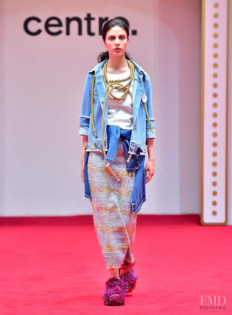 Iliana Ruiz featured in  the Centro. fashion show for Autumn/Winter 2017