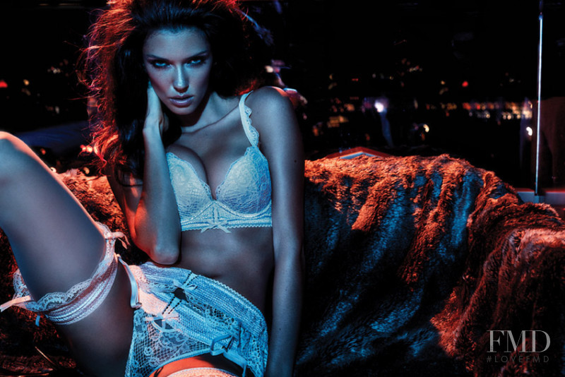 Anna Christina Schwartz featured in  the Pleasure State Couture advertisement for Autumn/Winter 2016