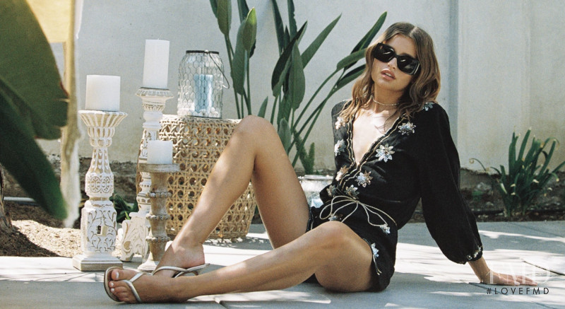Lexi Wood featured in  the Beach Bunny lookbook for Spring/Summer 2020