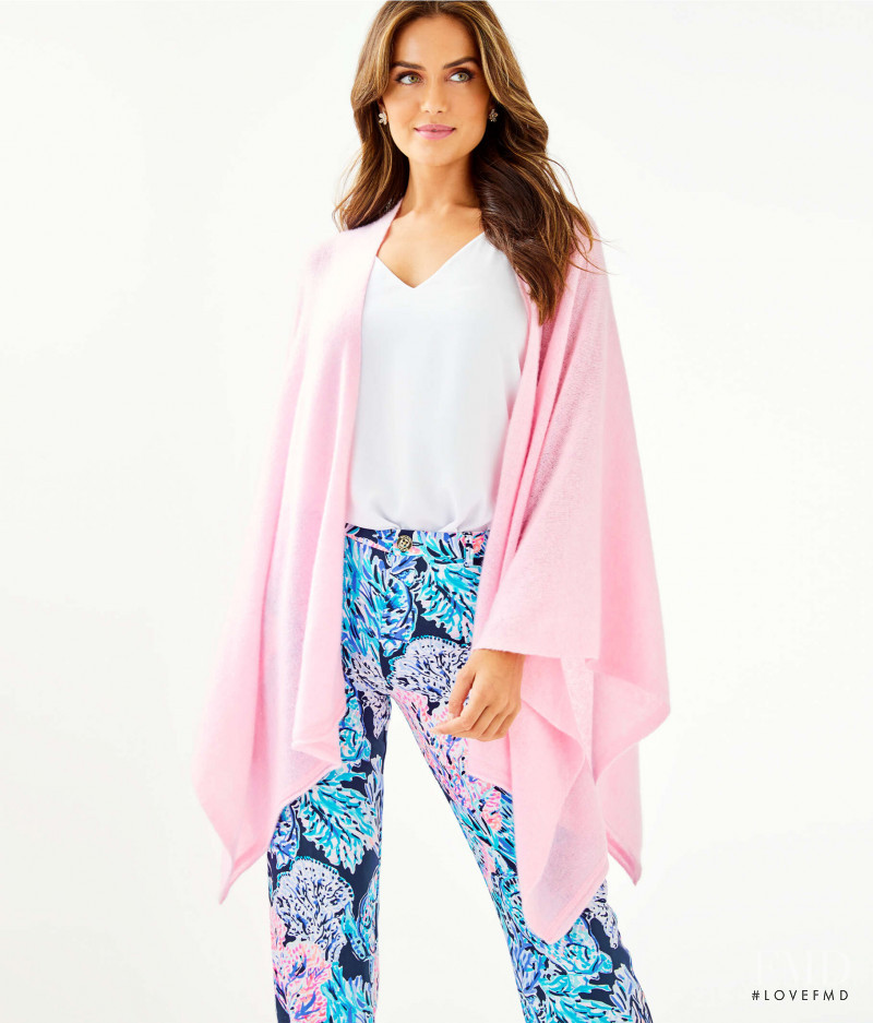 Talia Richman featured in  the Lilly Pulitzer catalogue for Autumn/Winter 2019