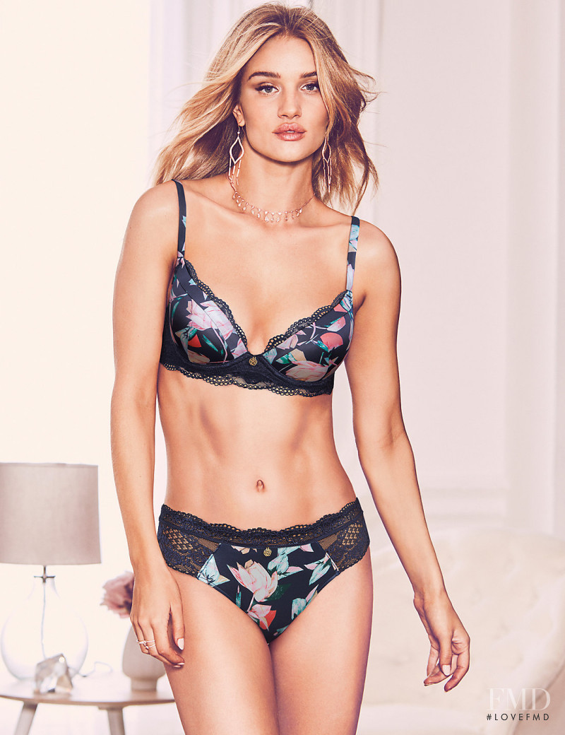 Rosie Huntington-Whiteley featured in  the Marks & Spencer Autograph catalogue for Spring/Summer 2018
