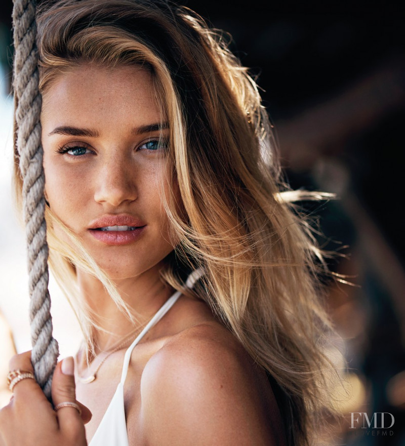 Rosie Huntington-Whiteley featured in  the UGG Australia advertisement for Spring/Summer 2017