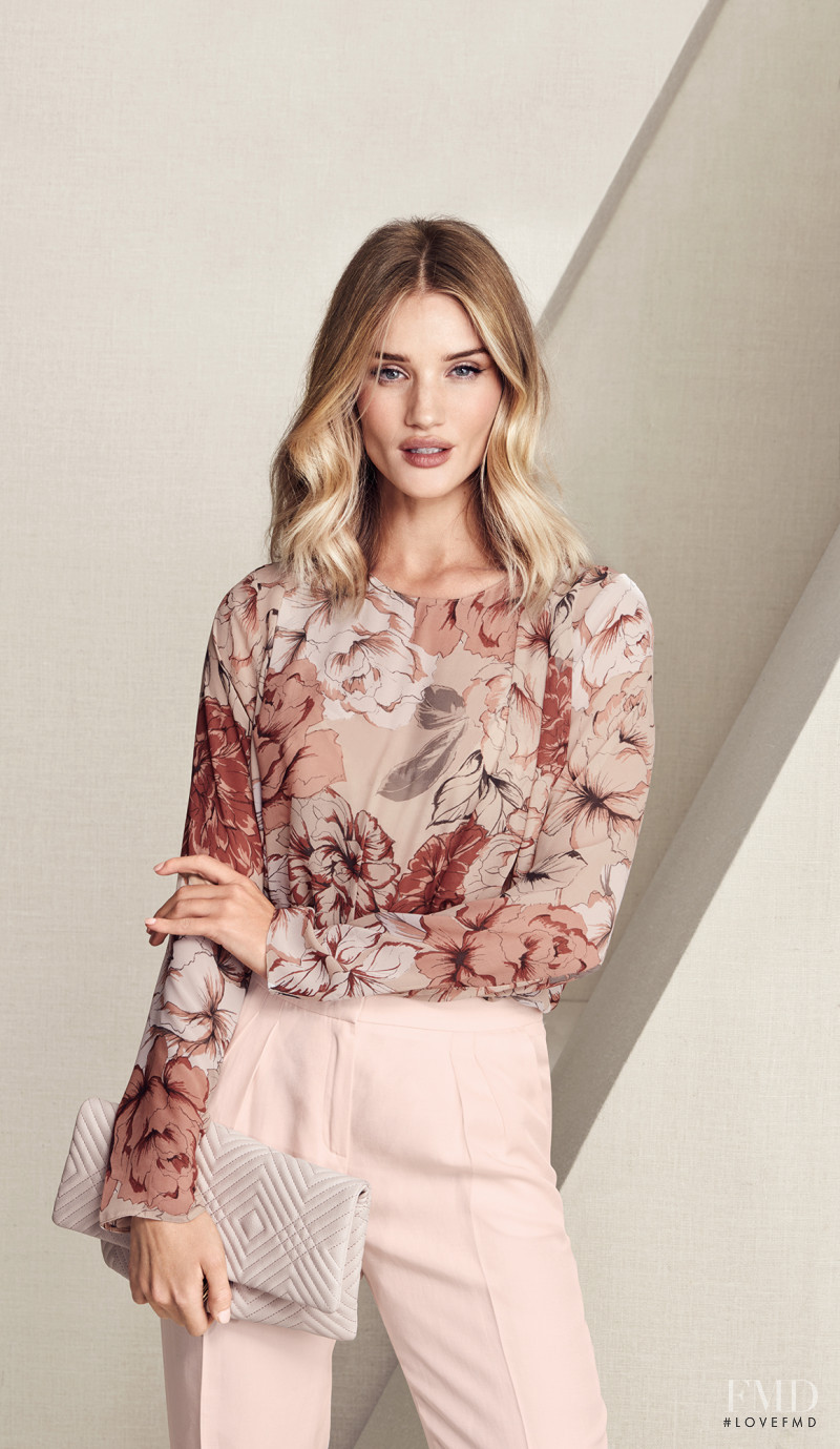 Rosie Huntington-Whiteley featured in  the Marks & Spencer catalogue for Autumn/Winter 2016