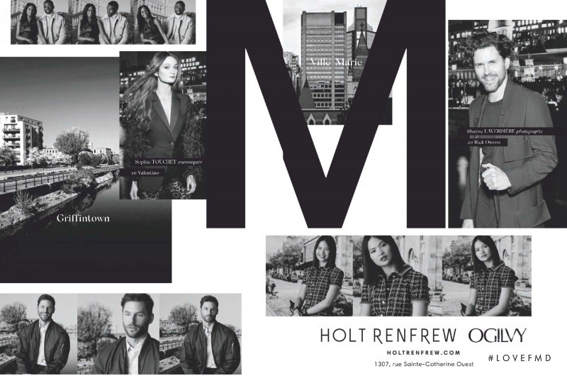 Holt Renfrew advertisement for Pre-Fall 2020