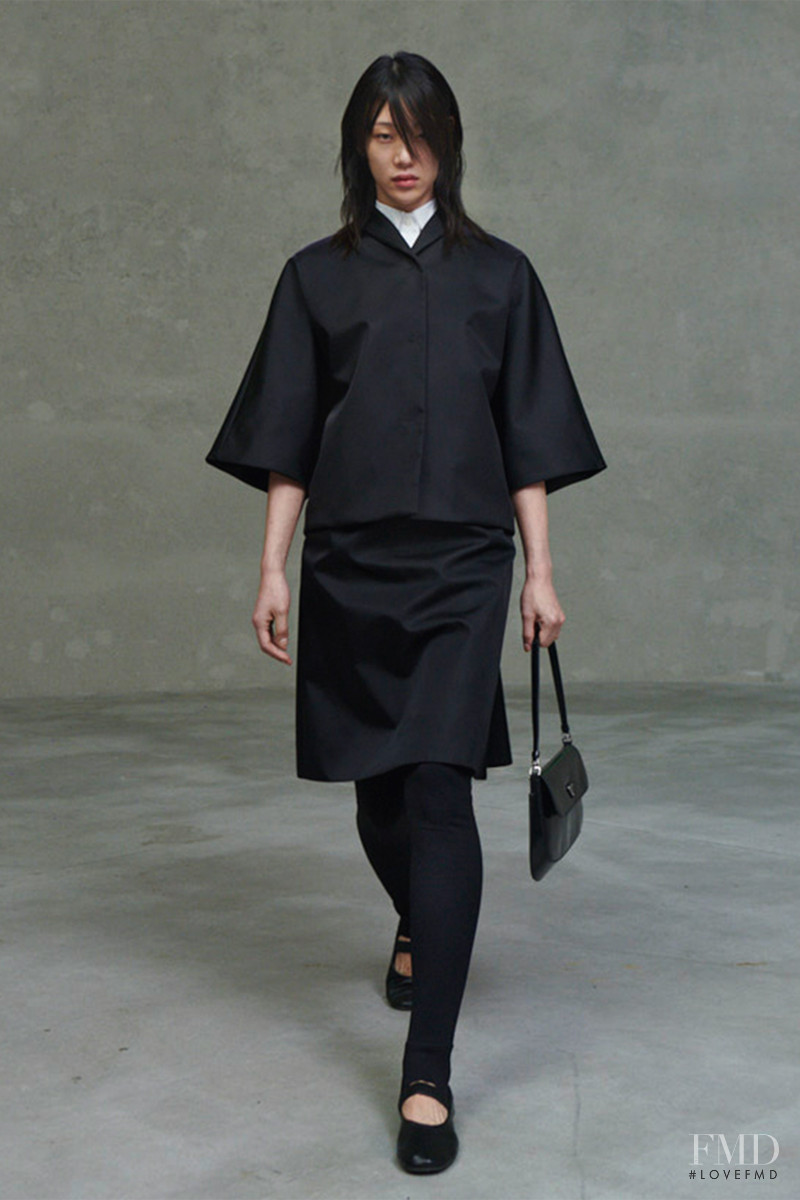 So Ra Choi featured in  the Prada fashion show for Spring/Summer 2021