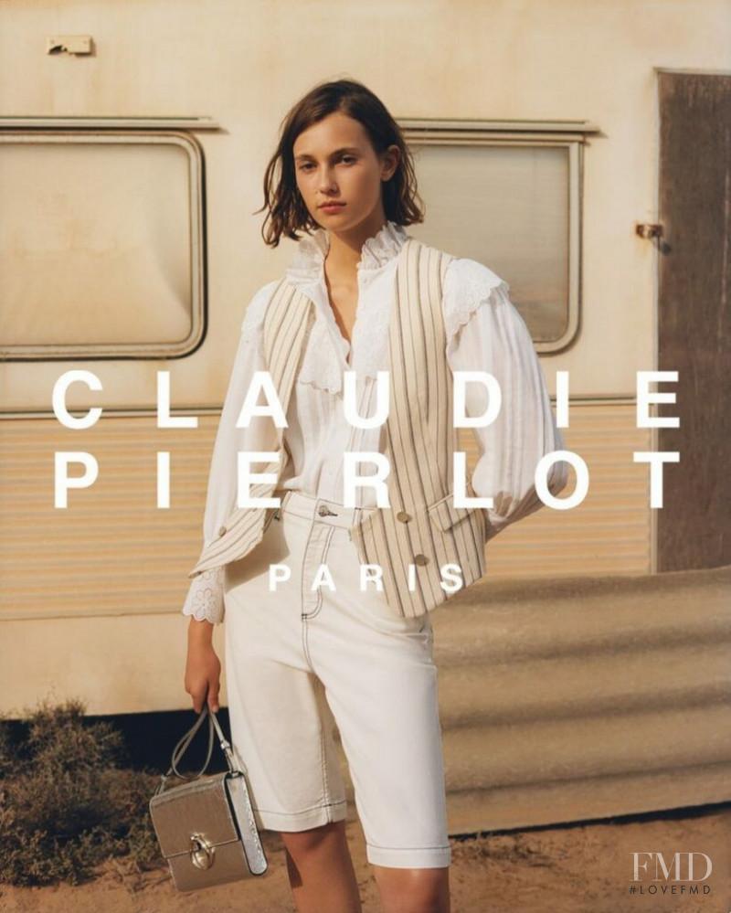 Mali Koopman featured in  the Claudie Pierlot advertisement for Spring/Summer 2019