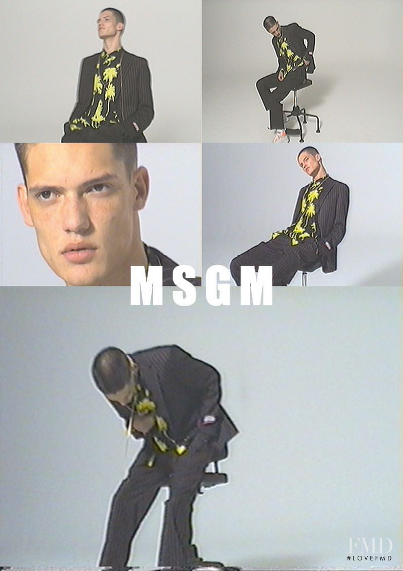MSGM advertisement for Spring/Summer 2019