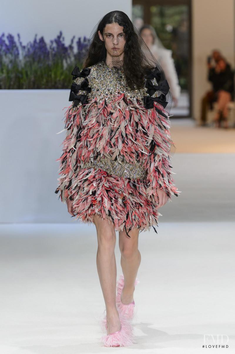 Cyrielle Lalande featured in  the Giambattista Valli Haute Couture fashion show for Autumn/Winter 2018